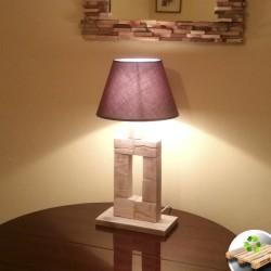 "Lámpara de Madera ""Templo"""