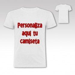 Personaliza aquí tu Camiseta