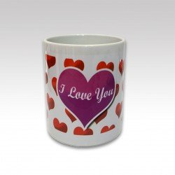 "Taza ""I Love You"" M"