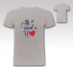 "Camiseta ""All u Need´s Yo"" de StrikeDos"