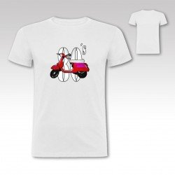 "Camiseta ""Vespa 80´s"""