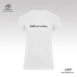 "Camiseta ""Árboles que..."