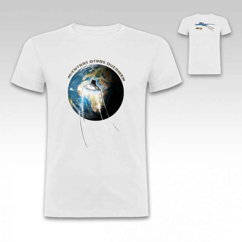 "Camiseta ""Ovni"" de StrikeDos Blanco"