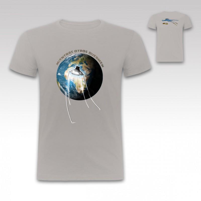"""Camiseta """"Ovni"""" de StrikeDos Gris"""