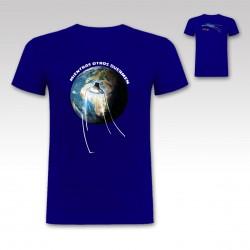 "Camiseta ""Ovni"" de StrikeDos Azul Marino"