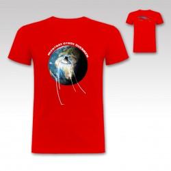 "Camiseta ""Ovni"" de StrikeDos Rojo"