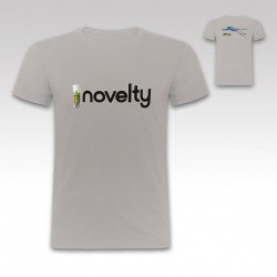 "Camiseta ""Novelty"" en negro + spray de Strikedos"