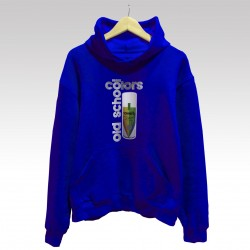 "Sudadera ""Colors Old School"" y Novelty en spray de StrikeDos con capucha."